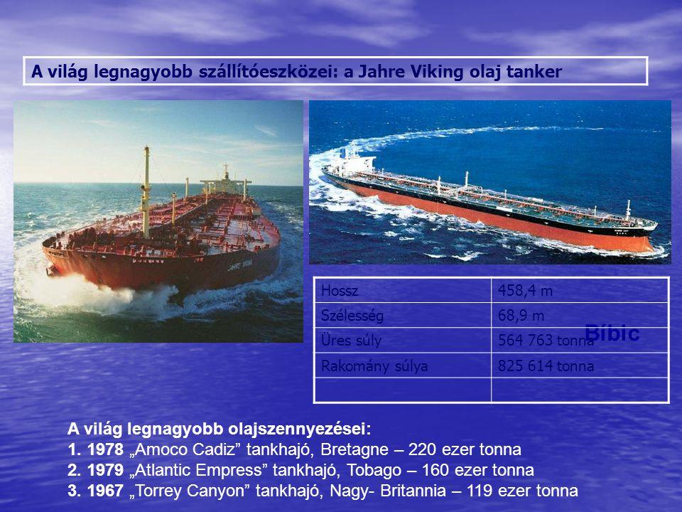 A világ legnagyobb szállítóeszközei: a Jahre Viking olaj tanker