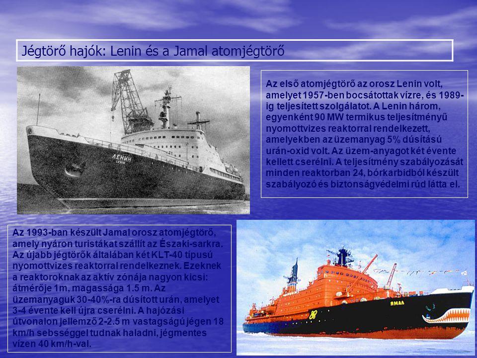 Sólyom Jégtörő hajók: Lenin és a Jamal atomjégtörő