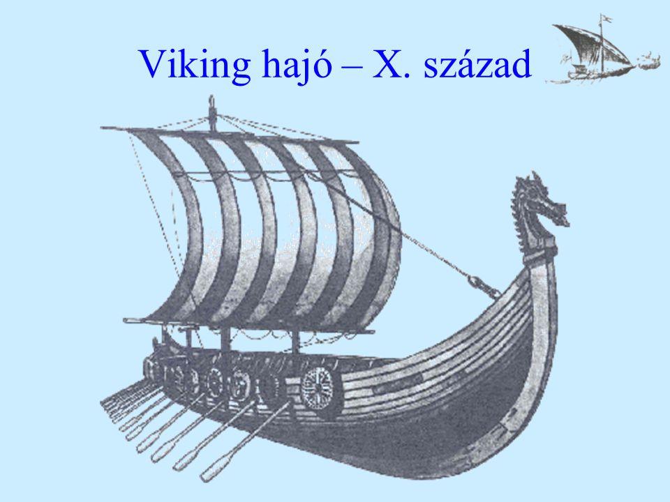 Viking hajó – X. század