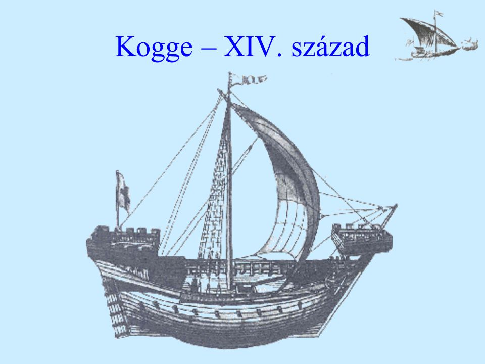Kogge – XIV. század