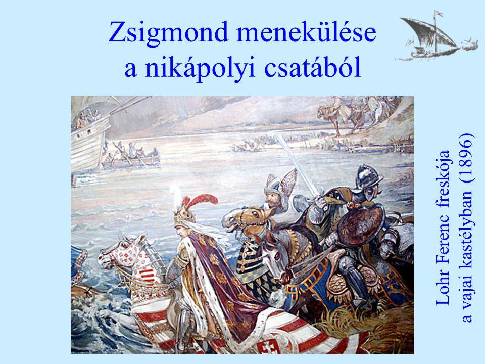 Zsigmond menekülése a nikápolyi csatából