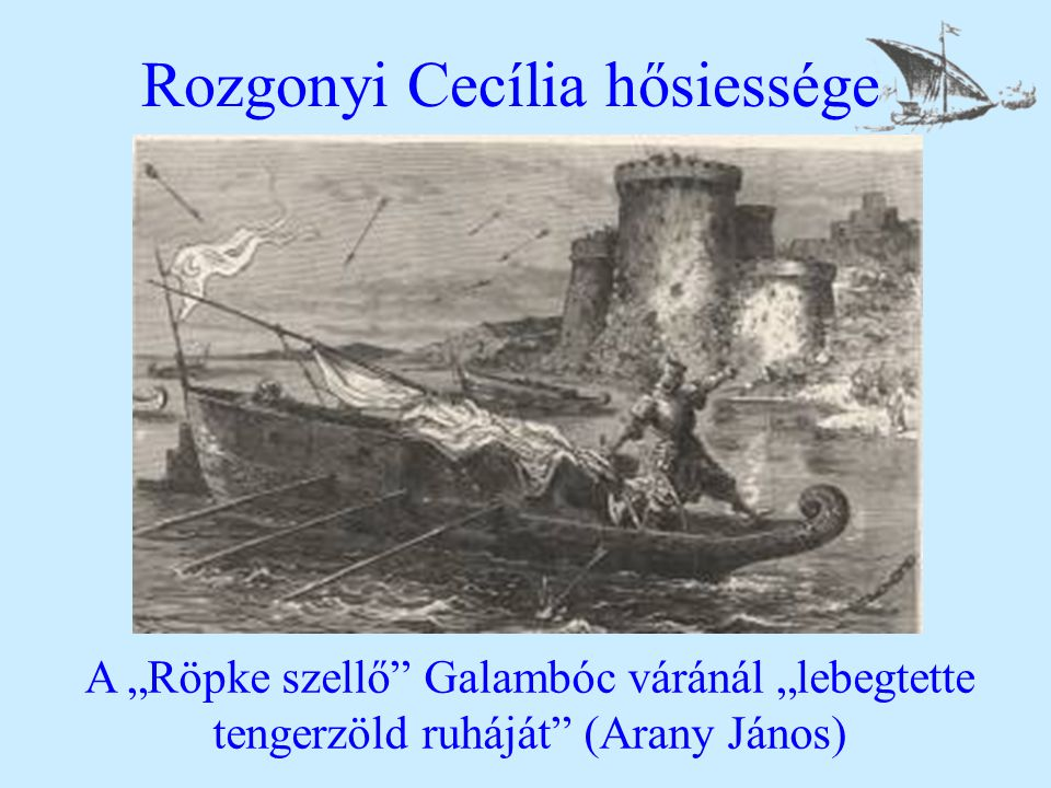 Rozgonyi Cecília hősiessége