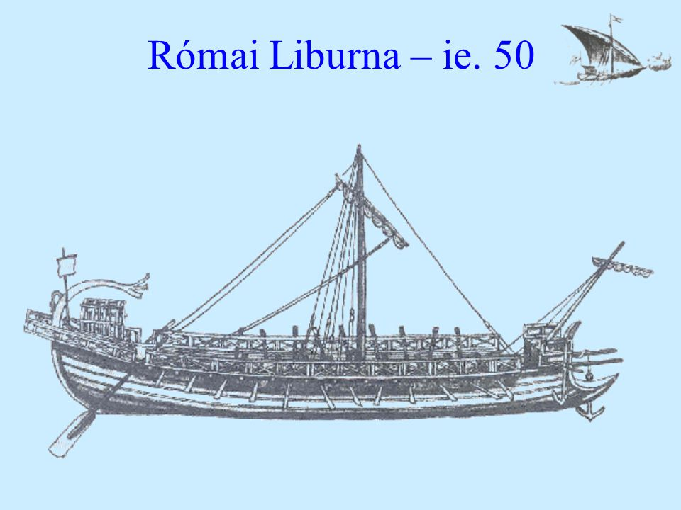 Római Liburna – ie. 50