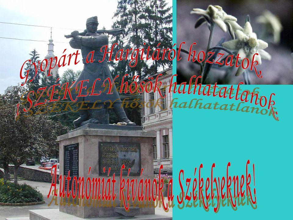 Autonómiát kívánok a Székelyeknek!