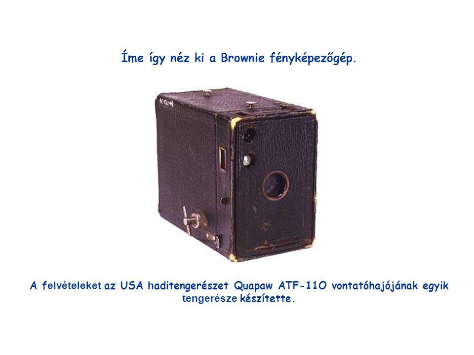 Íme így néz ki a Brownie fényképezőgép