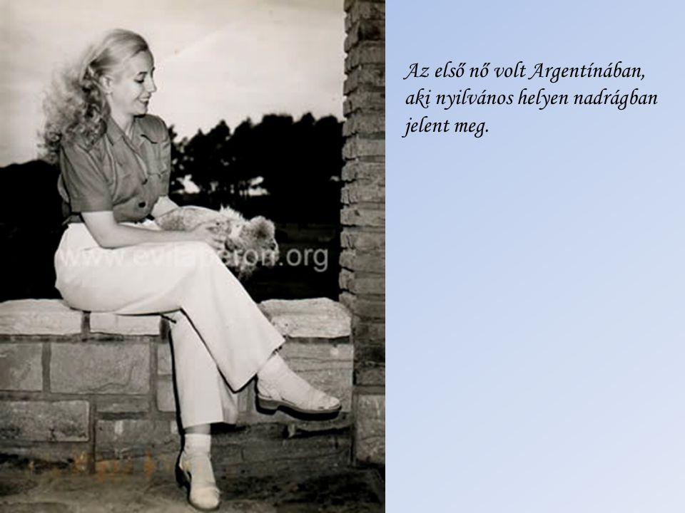 Az első nő volt Argentínában,