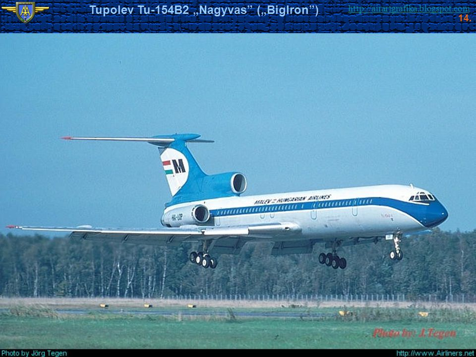 "Tupolev Tu-154B2 ""Nagyvas (""BigIron )"