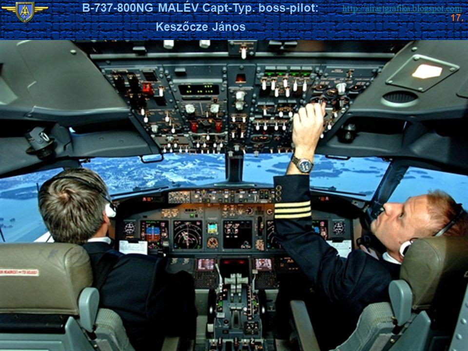 B-737-800NG MALÉV Capt-Typ. boss-pilot: