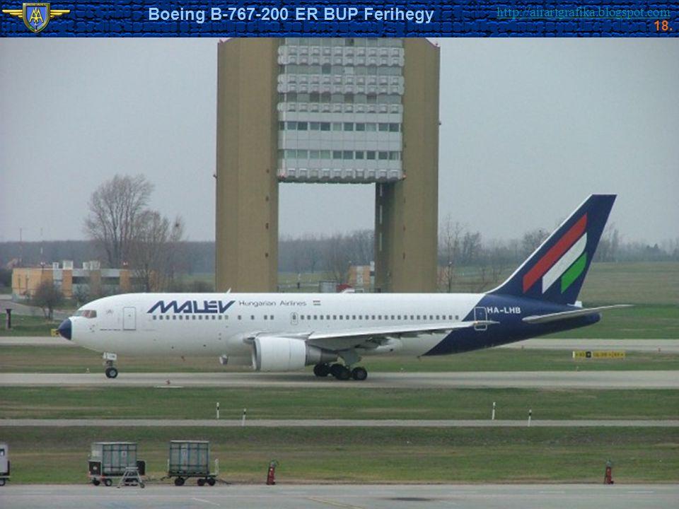 Boeing B-767-200 ER BUP Ferihegy