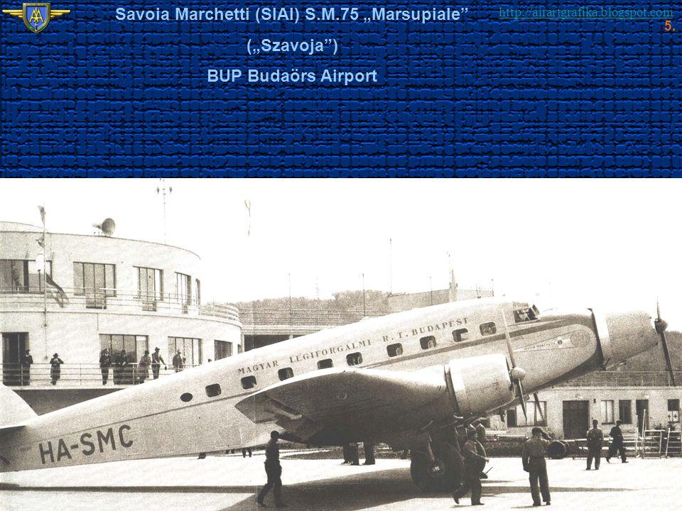 """Savoia Marchetti (SIAI) S.M.75 """"Marsupiale"""