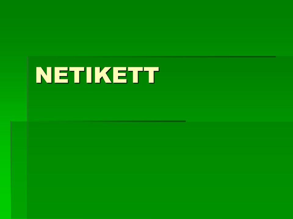 NETIKETT