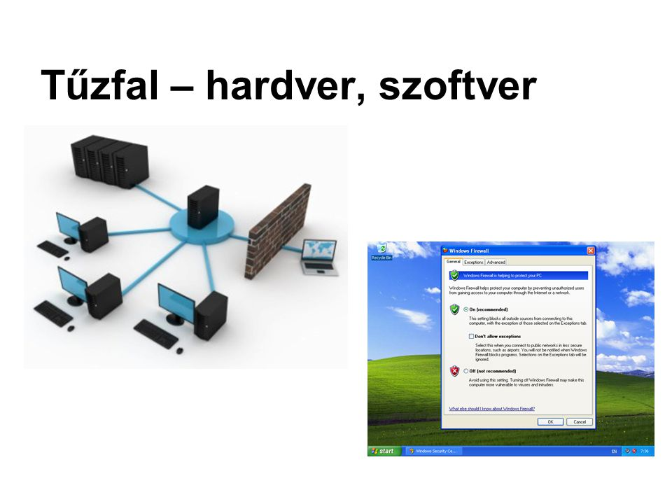 Tűzfal – hardver, szoftver