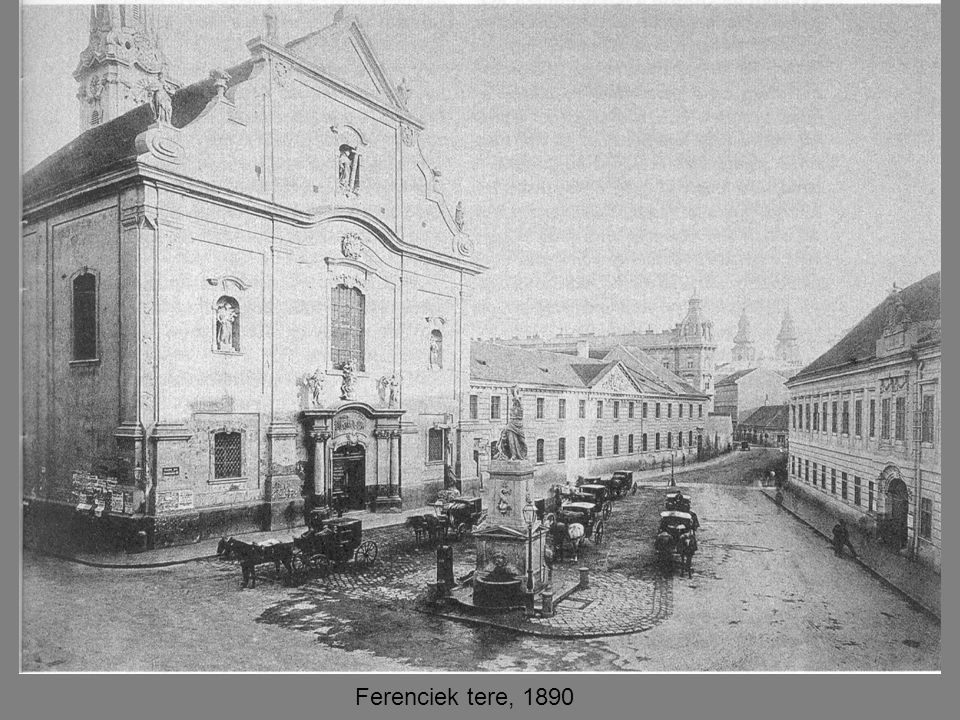 Ferenciek tere, 1890