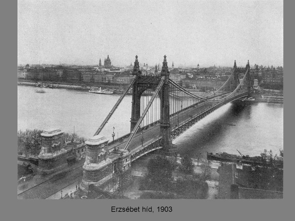 Erzsébet híd, 1903