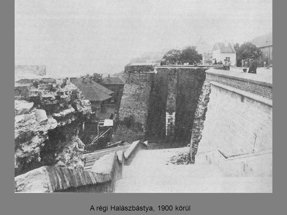 A régi Halászbástya, 1900 körül