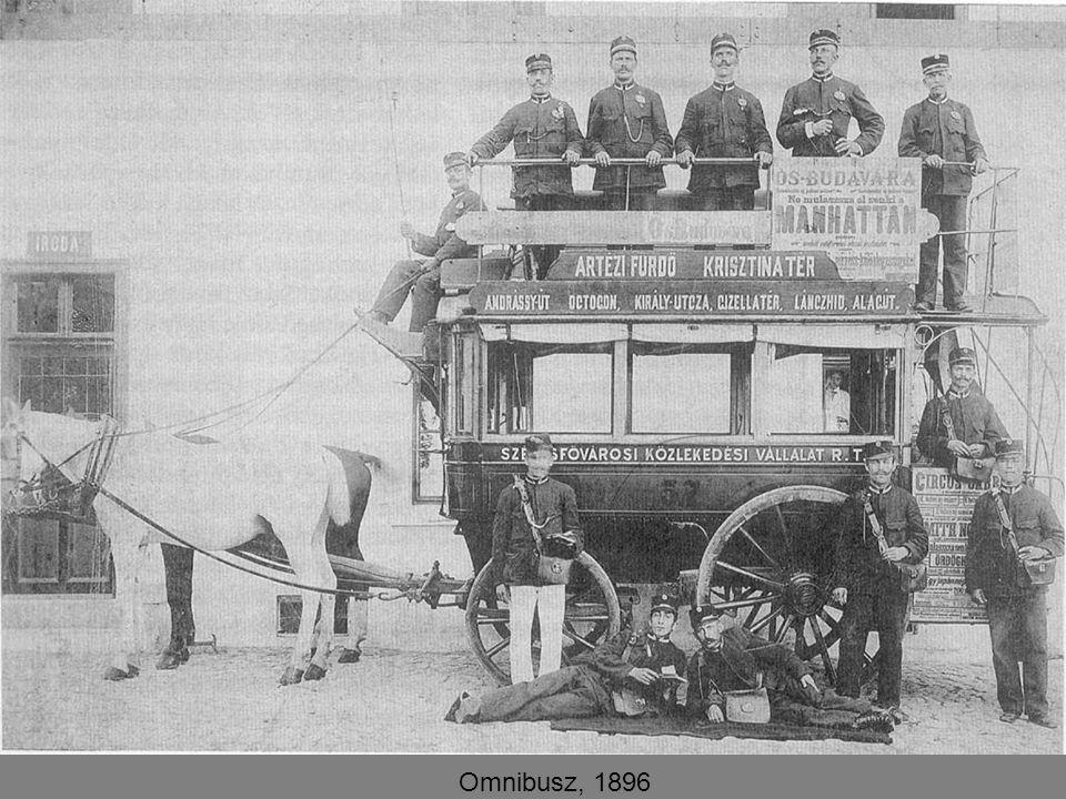 Omnibusz, 1896