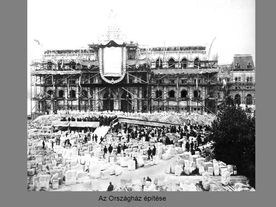 Az Országház építése