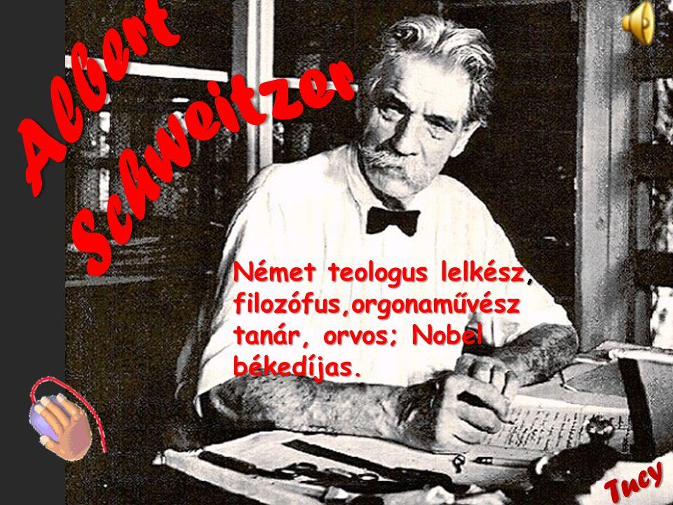 Albert Schweitzer Tucy