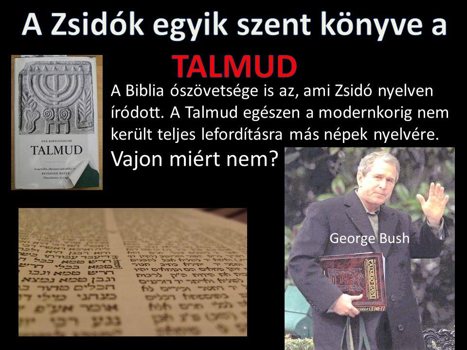 A Zsidók egyik szent könyve a