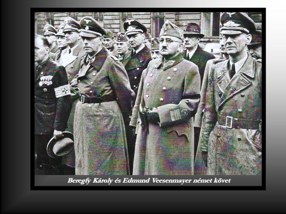 Beregfy Károly és Edmund Veesenmayer német követ