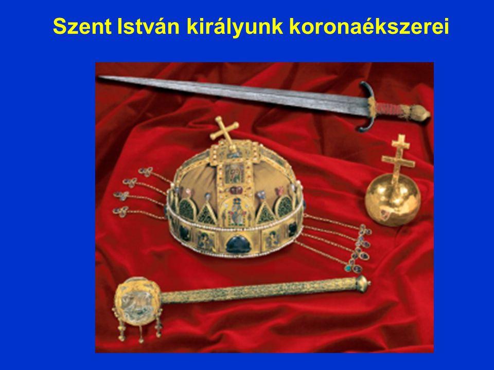 Szent István királyunk koronaékszerei