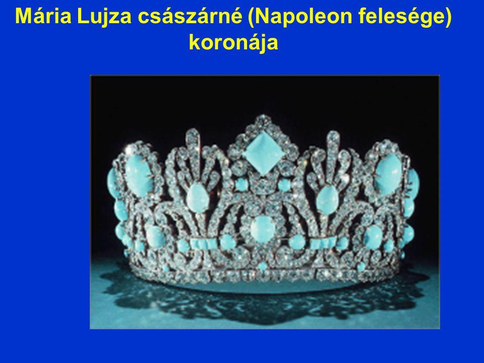 Mária Lujza császárné (Napoleon felesége) koronája