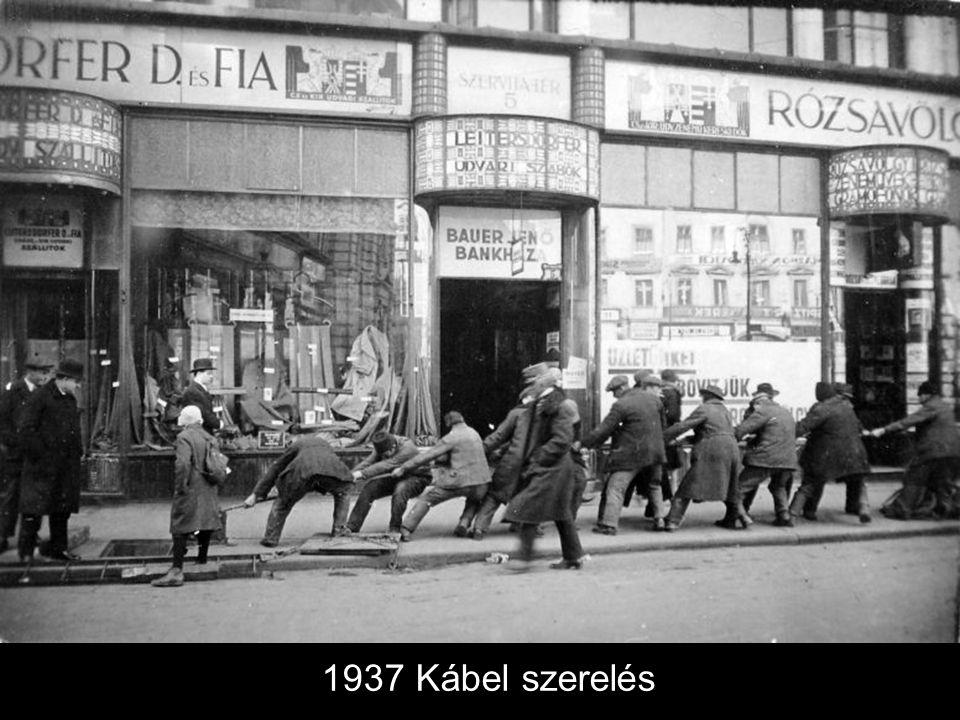 1937 Kábel szerelés