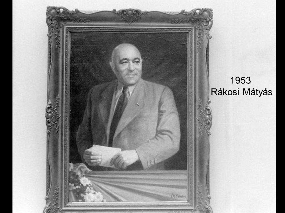 1953 Rákosi Mátyás