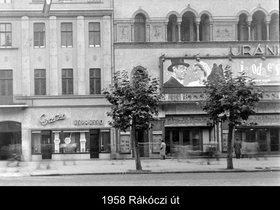 1958 Rákóczi út