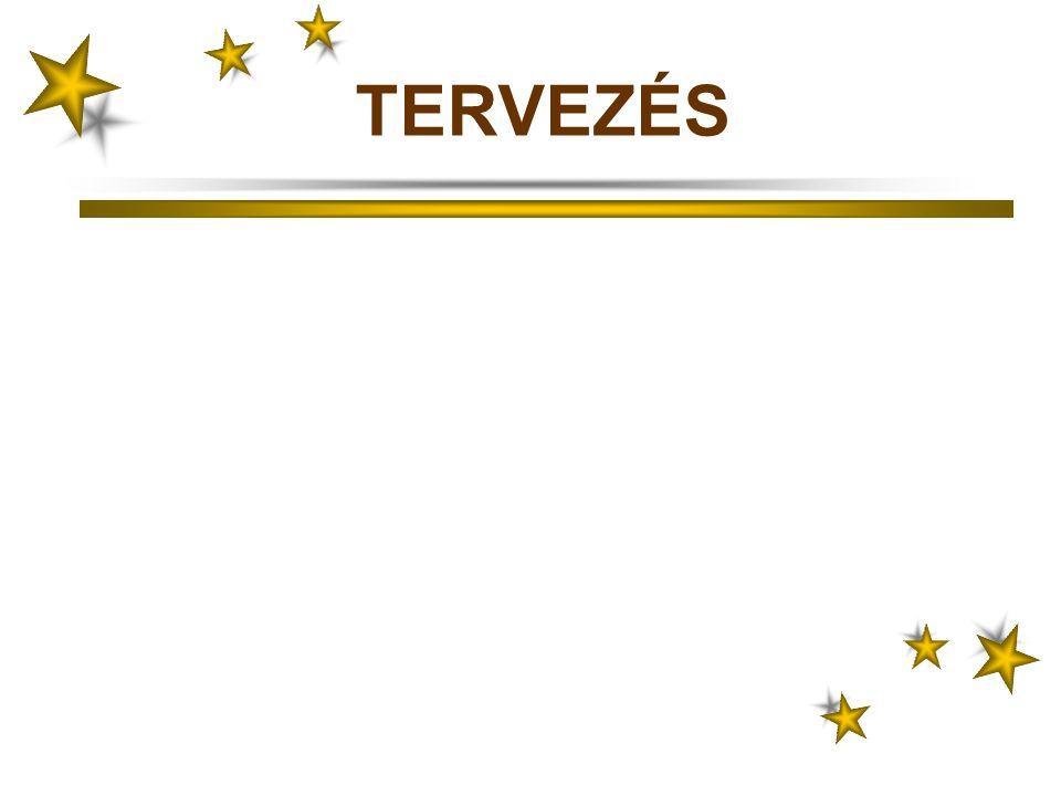 TERVEZÉS