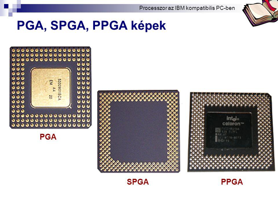 PGA, SPGA, PPGA képek PGA SPGA PPGA