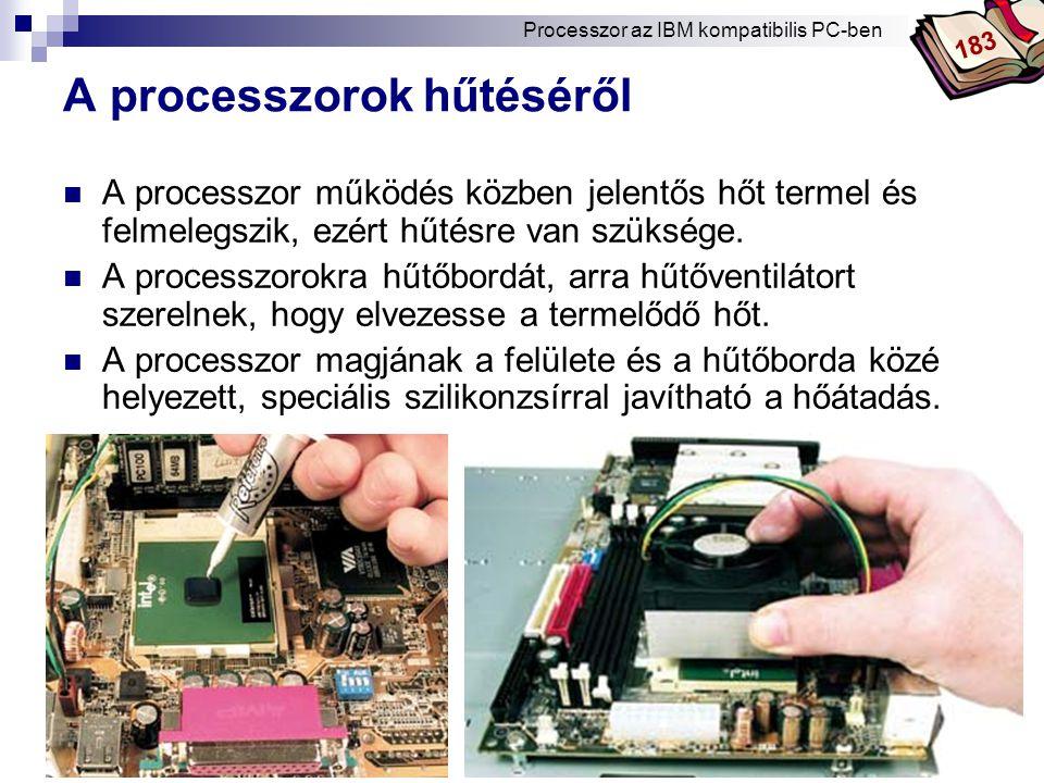 A processzorok hűtéséről