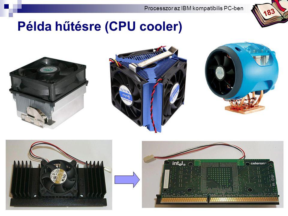 Példa hűtésre (CPU cooler)