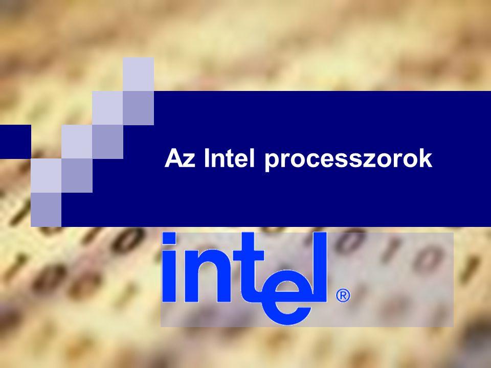 Az Intel processzorok