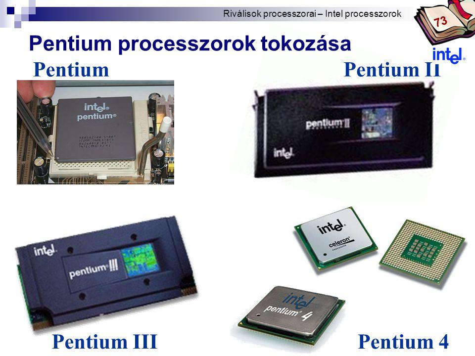 Pentium processzorok tokozása Pentium Pentium II