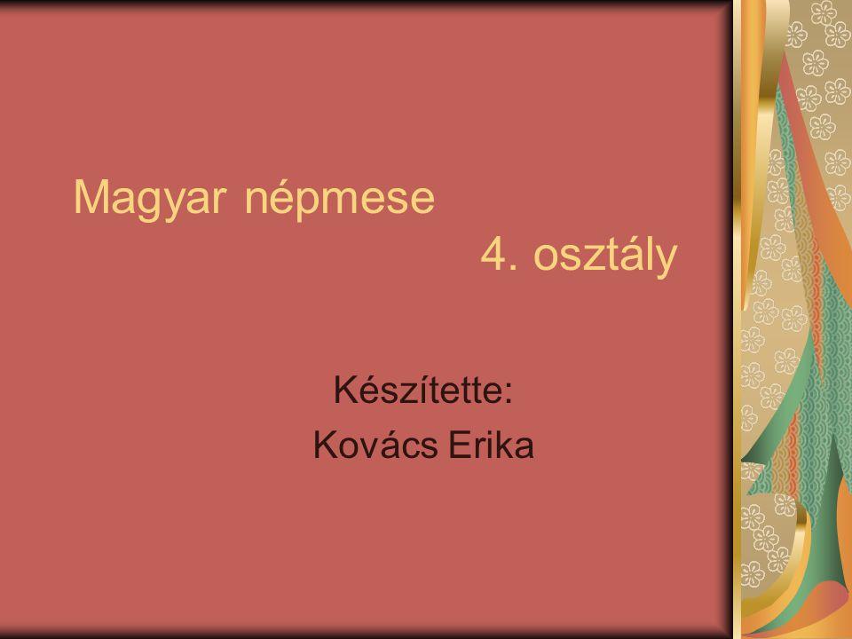 Magyar népmese 4. osztály