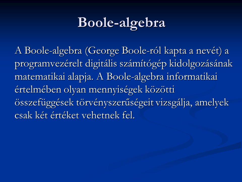 Boole-algebra