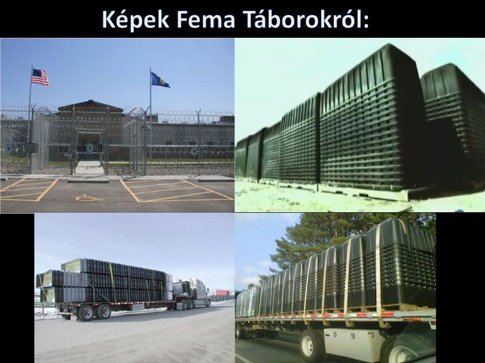 Képek Fema Táborokról: