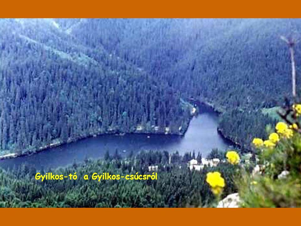 Gyilkos-tó a Gyilkos-csúcsról