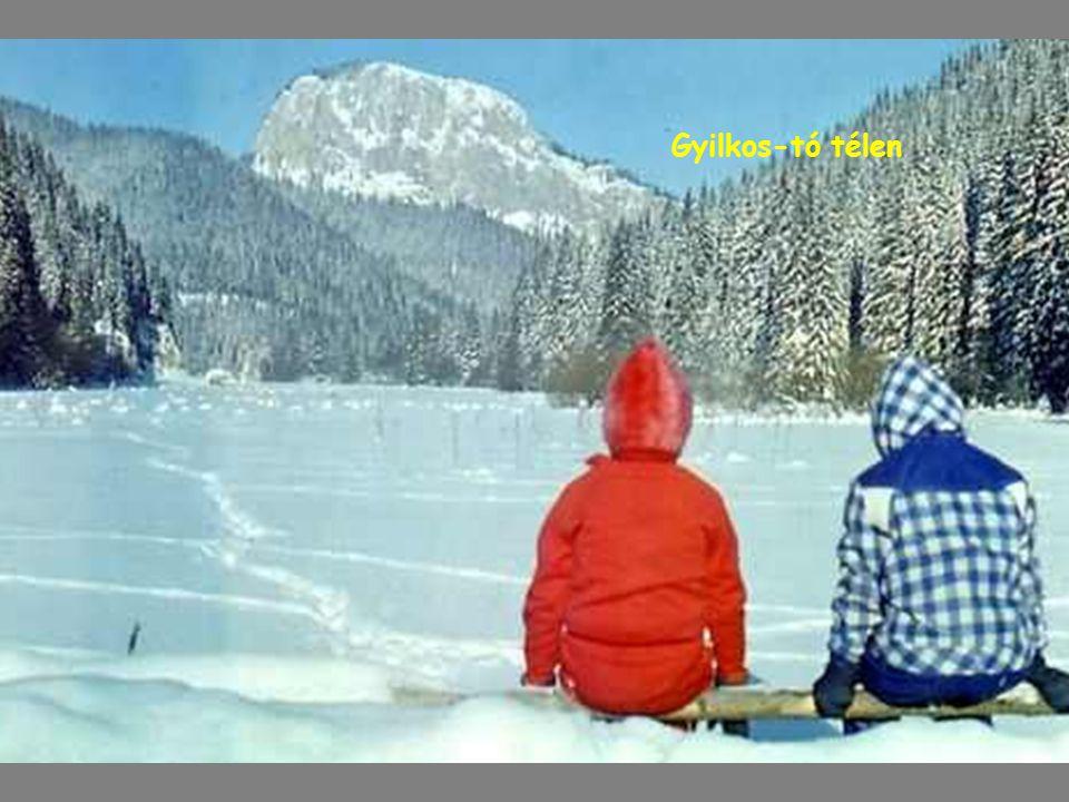 Gyilkos-tó télen