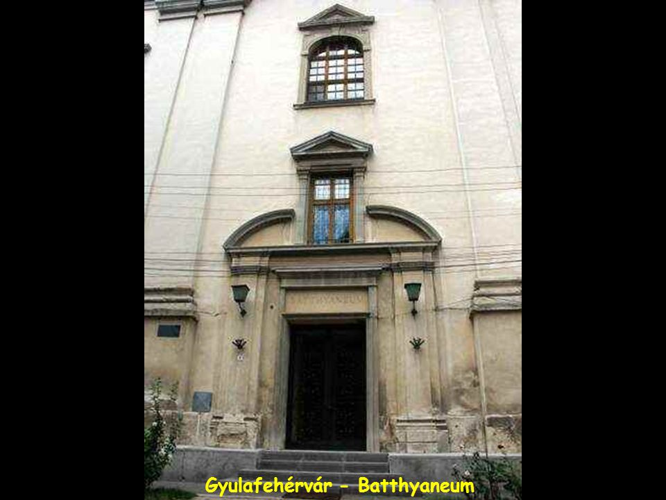 Gyulafehérvár - Batthyaneum