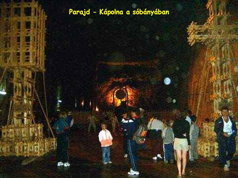 Parajd - Kápolna a sóbányában