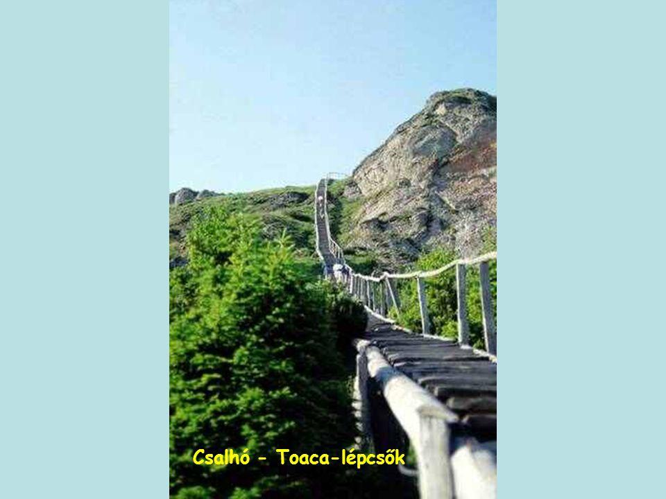 Csalhó - Toaca-lépcsők