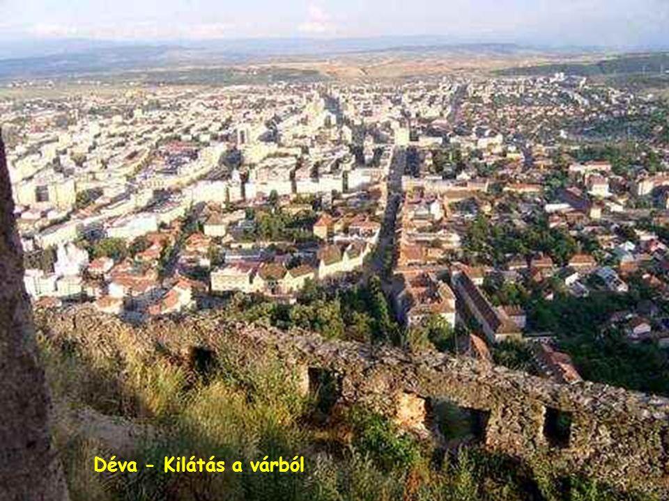 Déva - Kilátás a várból