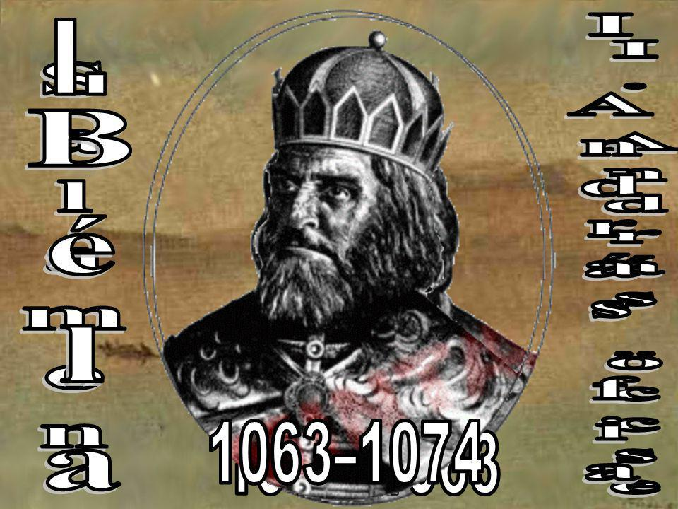 I. Salamon I András fia I. András öccse Béla 1063–1074 1060–1063