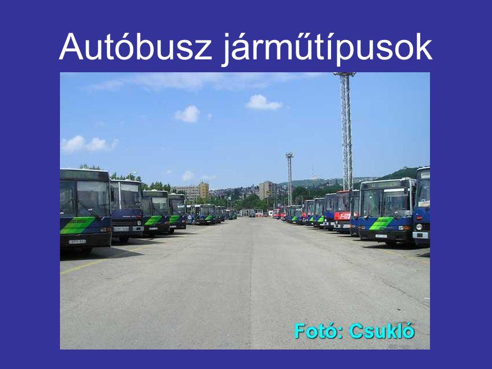 Autóbusz járműtípusok