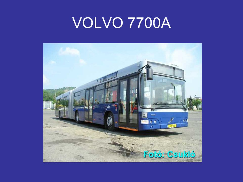 VOLVO 7700A