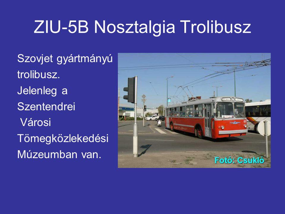 ZIU-5B Nosztalgia Trolibusz