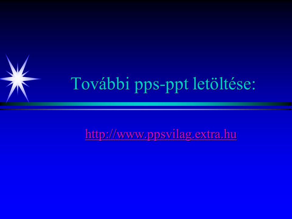 További pps-ppt letöltése:
