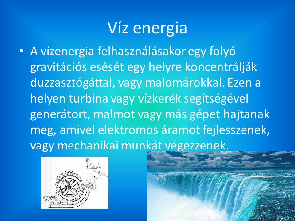 Víz energia